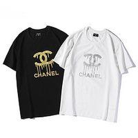 кистовидные футболки оптовых-Летние женские футболки 2019 новая мода футболки с фирменными буквами печатных для женщин экипаж шеи футболка с коротким рукавом одежда S-XXL