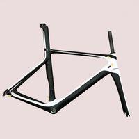 chinesische carbonfahrräder großhandel-Verdeckte Kabel Design Chinese Aero Oem Carbon-Rennrad-Rahmen Di2 Fahrradrahmen