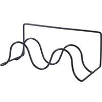 calçado rack metal venda por atacado-Tipo de pasta Slipper Shoe Rack Double Deck Prateleiras De Armazenamento De Ferro Art Wall Mounted Bracket Pure Color Simplicidade Venda Quente 5 1xyb1