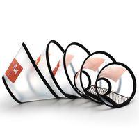 colar anti mordida venda por atacado-CHUN0318 Hot 2019 Hot PVC Flared capa de proteção Pet ajustável Anti-Bite Dog Beauty Tampa Boca Máscara Collar Anti-zero anti-mordida colar