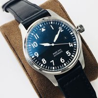 Wholesale a2 stainless steel for sale - Group buy FK factory automatic mechanical movement eta2892 a2 watch by MM316 fine steel leather strap with high transparent double sided blue film
