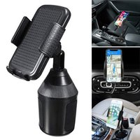 Wholesale car cup holder phone resale online - Newly Degree Universal Car Cup Adjustable Holder Car Mount for Cell Phone Adjustable DC128