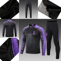 Wholesale cheap quality clothes for sale - 2018 High quality new training clothes spurs football high quality cheap popular many details jacket Training uniform