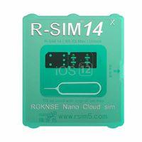 x sim für ios7 großhandel-NEUE RSIM14 Unlock-Karte iOS 12 R-SIM14 Smart-R-Sim-Kartenentsperrung für IOS12 -IOS7 Rsim 14 ICCID-SIM-Karte für iPhone Xs MAX XR XS X 6 7 8 plu