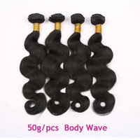 Wholesale Brazilian Body Wave Hair Extensions Natural Black Cheap Remy Hair Wefts Body Wave Brazilian Virgin Hair Weaves g for african