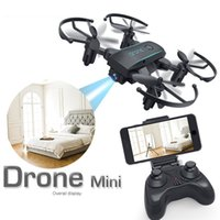 Wholesale brushless mini rc helicopter for sale - Group buy 2019 Newest Mini Foldable RC Drone P P Remote Control Helicopter Quadcopter LED Light Toys