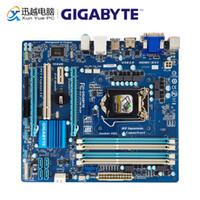Wholesale gigabyte motherboard i3 resale online - Gigabyte GA Z77M D3H Desktop Motherboard Z77M D3H Z77 LGA Core i7 i5 i3 DDR3 G SATA3 USB3 HDMI VGA DVI Micro ATX