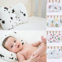 almofadas cabeça plana venda por atacado-Bebê recém-nascido macio e confortável travesseiro fio de seda impede cabeça plana anti-roll