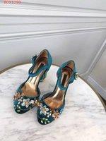 tênis de salto alto venda por atacado-Novas mulheres da moda sapatos de salto alto vestido de Diamante decoração Teal, Borgonha e roxo tamanho 34-41 altura do calcanhar 10 cm