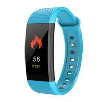 affichage de l'appelant achat en gros de-I9 Écran couleur de bracelet intelligent Fréquence cardiaque Tension artérielle Surveillance de l'oxygène dans le sang Affichage de l'identifiant de l'appelant 0.96 Grand écran couleur