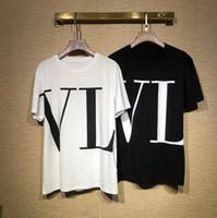diseño damas jersey al por mayor-Camiseta de manga corta de la marca para las mujeres de los hombres de lujo camisas de moda casual Tees Design Pullover q20 Señora camiseta de calidad superior