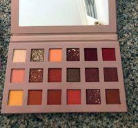 maquiagem brilhante venda por atacado-HOT Beauty Makeup Palette New 18 cores da paleta da sombra Matte Shimmer Alta Qualidade DHL transporte livre