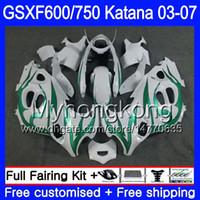 gsxf carenagens venda por atacado-GSXF-600 Para SUZUKI KATANA GSXF 750 600 GSXF600 03 04 05 06 07 293HM.40 GSX 750F GSXF750 2003 2004 2005 2006 2007 Carenagem