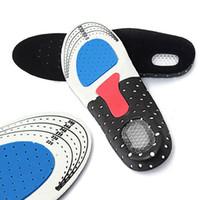 orthopädische schuhgel einlegesohlen großhandel-1 Paar Sport Running Silikon Gel Einlegesohlen für Füße Mann Frauen für Schuhe Sohle Orthopädische Auflage Massagestütze