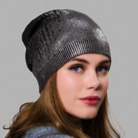 chapéu francês do beanie da boina venda por atacado-Maxi fábrica de Vendas Diretas DHL Shipping caxemira mistura prata quente Beret Hat - Mulheres malha trançada Crochet francês chique Beanie