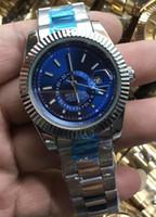 erkekler için saatler tasarla toptan satış-2019 Ünlü tasarım Moda Erkekler İzle Altın gümüş Paslanmaz çelik Yüksek Kalite Erkek Kuvars saatler Man Tarih Saatler İş classil saat