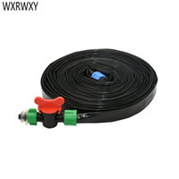 Wholesale drip watering hose resale online - 16mm drip tape Drip irrigation belt Watering System Flat Streamline Soaker Hose mm thickness mm Space