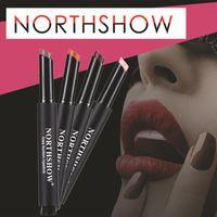 Wholesale lip glosses for sale resale online - Hot Sale Waterproof Long Lasting Vampire Style Makeup Lipstick Lip Gloss Cosmetics New Lipsticks For Women maquiagem
