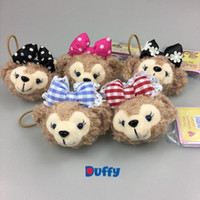 Wholesale rubber dolls free for sale - Group buy Duffy bear shelliemay cute hair hoop hair accessories Rubber Stuffed toys with elastics girl s headwear
