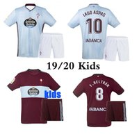 Wholesale children soccer jerseys for sale - Group buy Best quality Celta Vigo soccer jersey kits child Celta de Vigo BONGONDA HERNANDEZ NOLITO home children football shirts