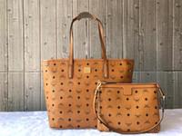 Wholesale red big handbags resale online - 2019 genuine cowhide leather top quality luxury designer handbags luxury tote clutch shoulder bags purses wallet big capacity shopping bag