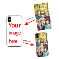 Wholesale phone case custom photo online – custom diy custom cell phone case design your own for iPhone X XR plus s create phone case with photos best black cover