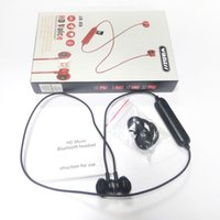 Wholesale ip headphones for sale - Group buy JX X6HD Bluetooth Headphones Wireless Earbuds For Music Earphones Stereo with Magnetic Touch Charger Box for Ip X Sams Retail package