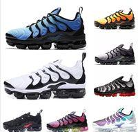 usa zapatos nuevos al por mayor-2019 Nuevo juego TN Plus Royal Orange EE. UU. Mandarina menta Uva Volt Zapatillas Hyper Violet Zapatillas deportivas para hombre Mujer zapatos de diseñador