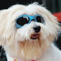 Wholesale dog sunglasses goggles for sale - Group buy Stylish and Fun Pet Dog Puppy Uv Goggles Sunglasses Waterproof Protection Sun Glasses for Dog