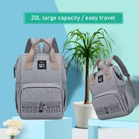 Wholesale diaper cute for sale - Group buy Diaper Bag backpack Cute Baby Care Bags Mummy Maternity Backpack For Travel Stroller Waterwroof bag for baby nappy