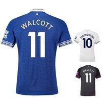 shorts de foot everton achat en gros de-Walcott DIGNE SIGURDSSON maillots de football everton Manche courte MINA RICHARLISON SIGURDSSON Edition troisième match de football