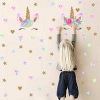 adesivo de parede decalque removível mural decente venda por atacado-New Lovely PVC Adesivo de Parede Crianças Quarto DIY Adesivos Removível Rosa Polka Dot Home Decor Decal Mural