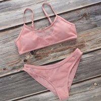 ingrosso fabbrica di seta reggiseno-LQ reggiseni bikini di nylon netto di stoffa puro colore seno sexy transfrontaliera costumi da bagno fabbrica donne all'ingrosso trasparente Bra Set