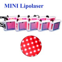 Wholesale mini diode lasers for sale - Group buy mini lipo laser diodes lipolaser body contouring diode lipo laser liposuction slimming machine for sale
