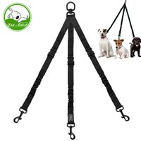 Wholesale led rope light online - Nylon No Pull Way Pet Dog Lead Leashes Coupler Pet Adjustable Rope No Tangle Bungee Pets Walking Strap Leash For Dogs