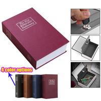 Wholesale hid kid resale online - Hidden Secret Box For Kids Cassaforte Mini Piggy Bank Lock Book Safe Box Cofre Cash Storage Items Key Stash Small Safe For Money