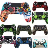 Wholesale controller thumbstick grips resale online - 9nVCq For Sony Playstation Dualshock PS4 Controller Gamepad Silicone Caps Thumbstick Grip Cover Protective Skin Analog Case