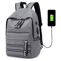 Wholesale college backpack bags for boys for sale - Group buy 2019 Men Business Travel Usb Charging Backpacks Teenager College Large Capacity School Backpack For Boy Girls Student Casual Bag