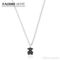 Wholesale bear necklaces for sale - Group buy FAHMI Sterling Silver Bear Spinel Necklace Fashion Women s Elegant Women s Jewelry