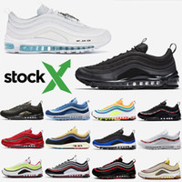 Wholesale leopard running shoes resale online - 2020 Black Bullet Sean Wotherspoon Men Cushion Running Shoes Red Leopard Game Royal Women Trainers Designer Sports Sneakers Size