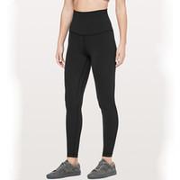 ingrosso vestiti stretti per le donne-pantaloni di yoga per le donne a vita alta Leggings in esecuzione pantaloni delle calzamaglia Athletic abbigliamento sportivo Palestra Fitness Quick Dry sportivo per le donne
