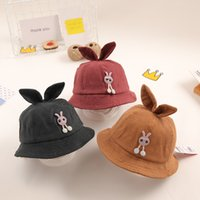 Wholesale cute korean baby hat resale online - Baby hat fall boy shade spring and autumn cute Korean version of the tide