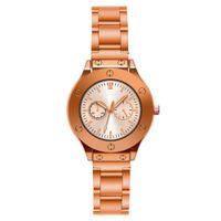 женские часы оптовых-Модные женские часы Лучшие продажи Металлический циферблат Часы класса люкс Розовое золото женский браслет Кварцевые наручные часы 2019 Новый Dropshipping