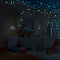 Wholesale height wall stickers for sale - Group buy 407pcs D Stars Glow In The Dark Luminous Fluorescent Wall Home Decoration stickers for kids rooms height measure