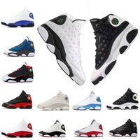 Wholesale designers leather shoes for sale - Group buy Top s Men Basketball Shoes Bred Flints History of Flight Altitude XIII Sport Shoes womens Designer Athletics Sneakers US