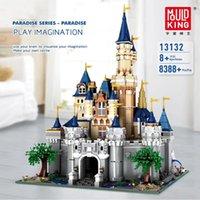 Wholesale toy castle sets for sale - Group buy 13132 Paradise Princess Cinderellas Dream Castle Creator UCS Set Building Blocks Bricks Kids Toys Gifts