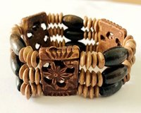 Wholesale carved bone jewelry for sale - Group buy Vintage Braided Woven Rope Unisex Bracelet Yak Bone Carved Fashion Jewelry