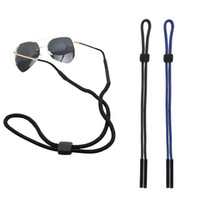 Wholesale sunglasses neck cord strap resale online - Elastic Eyeglasses Cord Adjustable Glasses Lanyards Neck String Cord Retainer Strap Head Band Glasses Rope sunglasses cord