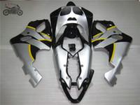 kawasaki ninja kits corps de moto achat en gros de-Gratuit kits personnalisés pour Kawasaki Ninja Carénage ZX7R 96-03 ZX7R ZZR 750 1996-2003 pièces de réparation du corps de carénage chinois moto de course sur route