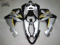kawasaki ninja kits de cuerpo de moto al por mayor-kits del carenado libre de encargo para Kawasaki Ninja ZX7R 96-03 ZX7R ZZR 750 1996-2003 carretera carreras de motos carenado china piezas de reparación de carrocerías